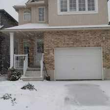Rental info for 217 Featherstone - Newer detached house in south west Kitchener!