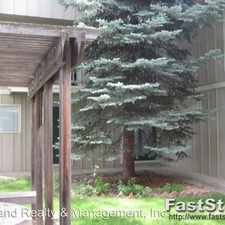 Rental info for 1607 Cottonwood Drive #14