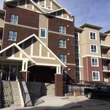 Rental info for Central Apartments - 1 Bedroom Apartment for Rent in the Airdrie area