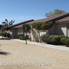 Rental info for 7262 Palo Alto Avenue #6 in the Yucca Valley area