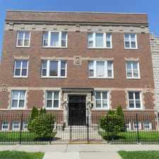 Rental info for 4240 Calumet Ave 2N HAR in the Bronzeville area