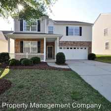 Rental info for 7523 Carrington Forest Lane in the Indian Trail area