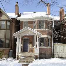 Rental info for 60 Indian Road Crescent in the Dovercourt-Wallace Emerson-Juncti area