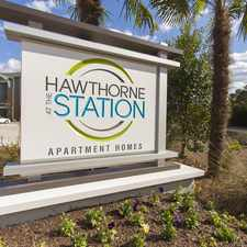 Rental info for Hawthorne at the Station