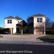 Rental info for 7503 Lazy Creek Dr A in the Austin area