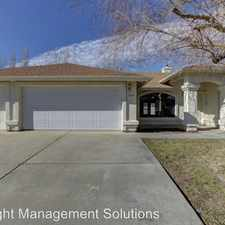 Rental info for 5584 N. Mesquite Drive