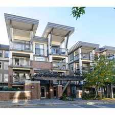 Rental info for 4868 Brentwood Drive #401 in the Burnaby area