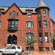 Rental info for 206 Laurens St. in the Bolton Hill area