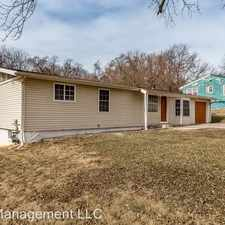 Rental info for 7412 Sycamore Ave
