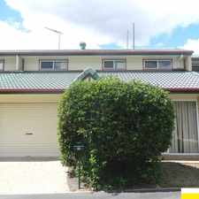 Rental info for OPEN HOME: SAT 04 MAR @ 9:30AM MIDDLE PARK - TOWNHOUSE 3 BED. 2 BATH. LOCK UP GARAGE in the Brisbane area