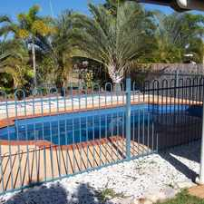 Rental info for 4 BEDROOM HOME WITH DOUBLE GARAGE AND A POOL! in the Yeppoon area