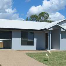 Rental info for Beautiful 3 Bedroom House with Large Backyard - Perfect for the Pets in the Townsville area