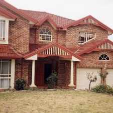 Rental info for LARGE 4 BEDROOM FAMILY HOME WITH IN GROUND POOL