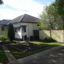 Rental info for QUALITY HOME in the Cessnock area