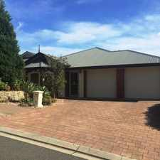 Rental info for Stunning 4 Bedroom Home with 2 Living Areas in the Adelaide area