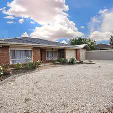 Rental info for Large Family Home in the Adelaide area