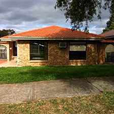 Rental info for Neat & Tidy Home in the Edensor Park area