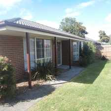 Rental info for EXCELLENT VALUE - DON'T MISS OUT!! in the Melbourne area