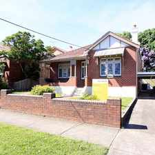 "Rental info for ""MALVERN HILL ESTATE"" in the Sydney area"