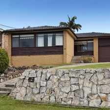 Rental info for Terrific Family Home in the Engadine area