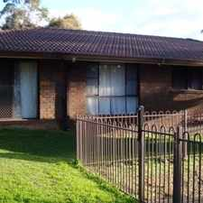 Rental info for 3 Bedroom home in nice area in the Sydney area