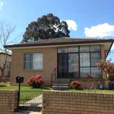 Rental info for Ideally Located Family Home in the Lithgow area