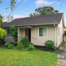 Rental info for UNDER APPLICATION WITH CASEY'S NUMBER 1 AGENT! in the Endeavour Hills area