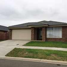 Rental info for EXECUTIVE 4 BEDROOM HOME! in the Warrnambool area
