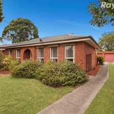 Rental info for Family home in a great location. in the Wantirna South area
