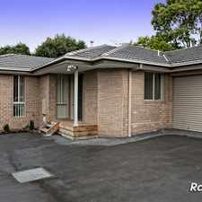 Rental info for * UNDER APPLICATION* ONLY 2 ON THE BLOCK ! in the Langwarrin area