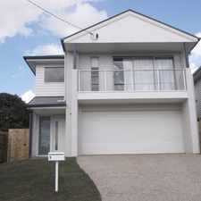 Rental info for Stunning 4 Bedroom Home In Padua Precint in the Kedron area