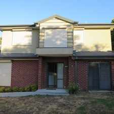 Rental info for NEAR NEW TOWNHOUSE WITH AMAZING VIEWS!!! in the Melbourne area