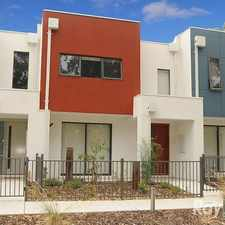 Rental info for NEAR NEW TOWNHOUSE in the Keysborough area