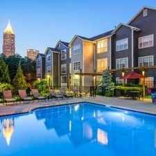 Rental info for $3555 1 bedroom Apartment in Fulton County Midtown in the Centennial Hill area
