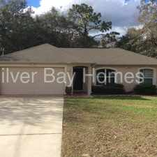 Rental info for Welcome to 1267 Waterfall Drive in the 34608 area