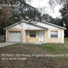 Rental info for 519 Parrish Avenue in the Orlando area