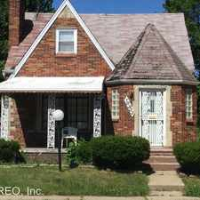Rental info for 18933 Barlow St. in the Detroit area