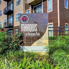 Rental info for The Marquis Lofts at Hermann Park