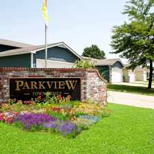 Rental info for Parkview Villas Townhomes in the Wichita area
