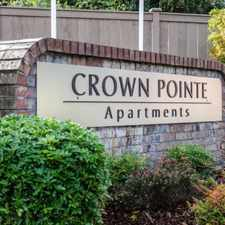 Rental info for Crown Pointe Apartments in the Tacoma area