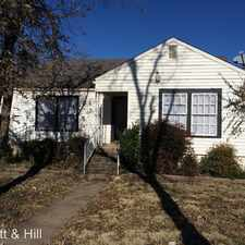 Rental info for 310 College Drive in the Abilene area
