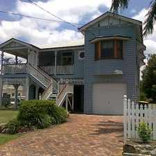 Rental info for Fantastic Family Queenslander in one of Morningside's best streets in the Brisbane area
