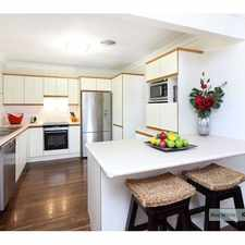 Rental info for PERFECT FAMILY HOME IN KENMORE in the Brisbane area