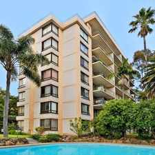 Rental info for LEAFY MACQUARIE TOWERS, AVAILABLE NOW