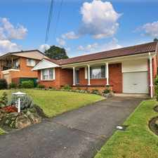 Rental info for Sought After Location in the North Nowra area