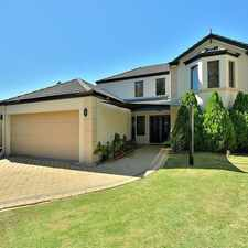Rental info for CANAL PROPERTY - LIVE IN LUXURY WITH VIEWS GALORE in the Perth area
