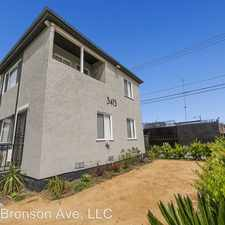 Rental info for 3415 S. Bronson Ave in the West Adams area