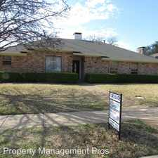 Rental info for 2312 Blue Cypress Dr in the Richardson area