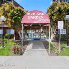 Rental info for Ashland Garden Apartments