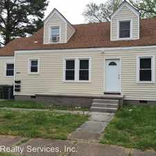 Rental info for 3860 Nansemond Circ-1 in the Norview area